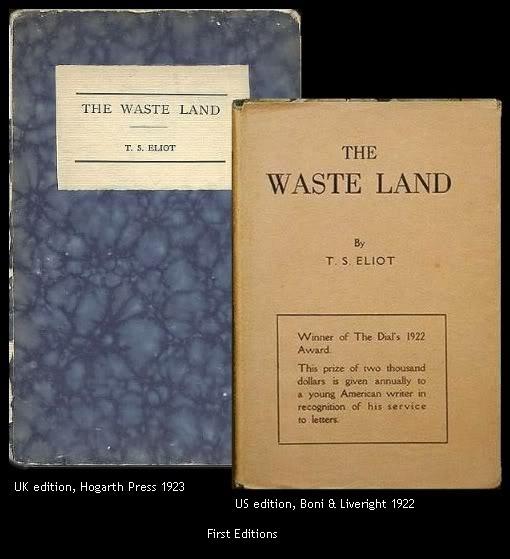 t.s. eliotís ìthe waste landî essay Search the history of over 336 billion web pages on the internet.
